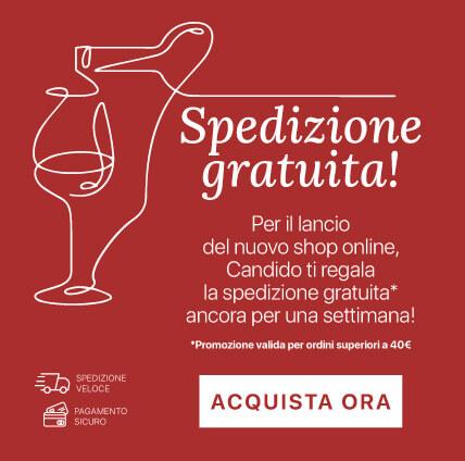 candido vini spedizione gratuita